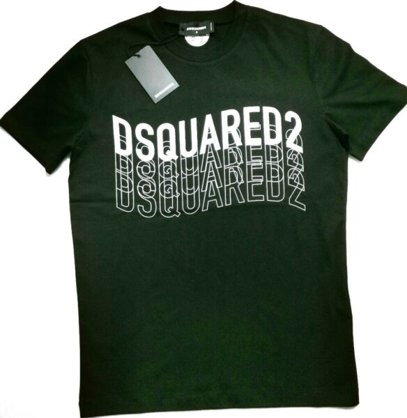 NEW DSQUARED2 MENS BLACK T SHIRT $39.00