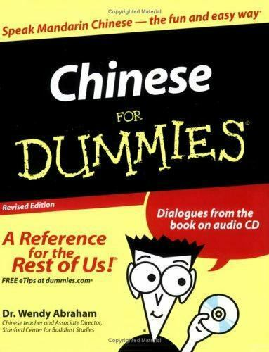 Chinese For Dummies Abraham Wendy $4.32