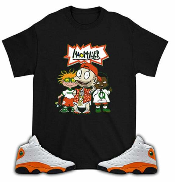 MacMiller Tommy T Shirt Match Air Jordan 13 Starfish $12.99
