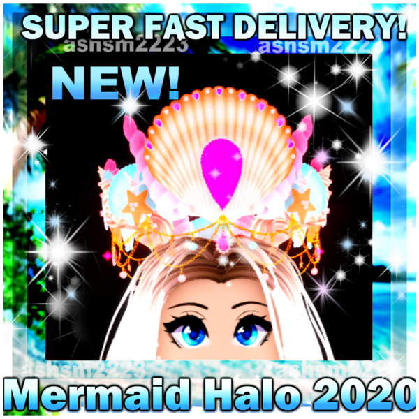 Royale High ROBLOX Mermaid Halo 2020 Read Description