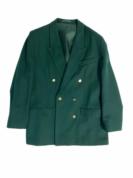 Womans Burberry Green Blazer Size Medium GBP 49.99