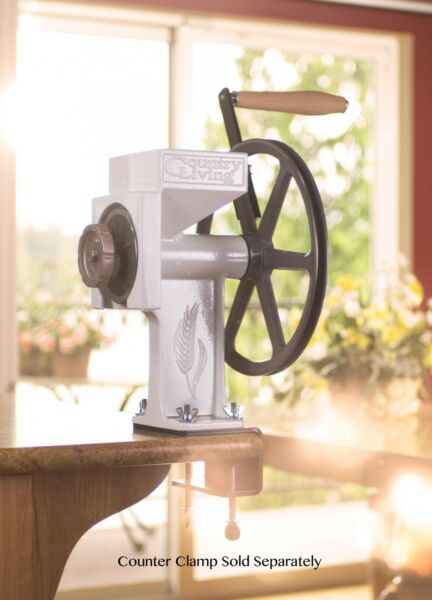 New Country Living Grain Mill with Large Corn amp; Bean Auger Lifetime Warranty