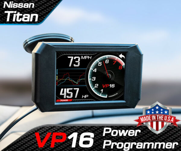 Volo Chip VP16 Power Programmer Performance Tuner for Nissan Titan