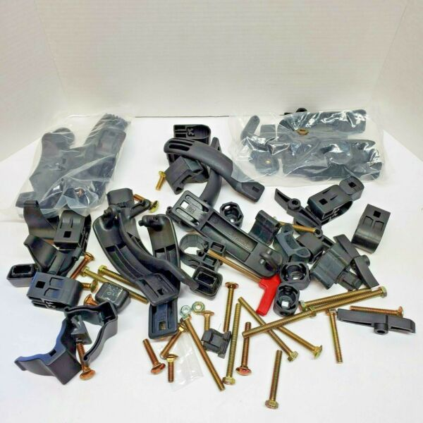 Yakima Rack System Parts Lot Mighty Mount Bolts Spacers Wrench Key Bail $44.99
