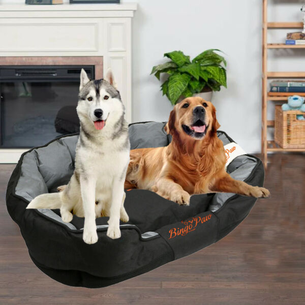 Orthopedic Large Dog Bed Sofa Anti Anxiety Soft with Removable Washable Cover $42.95