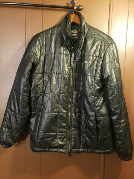 Black Timberland Puffer Jacket Size Adult Sm medium $29.99