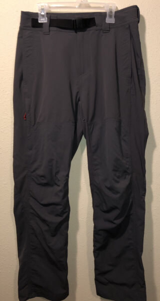 Mens REI Hiking Outdoor Camping Pants Size 30x30. Gray $18.00