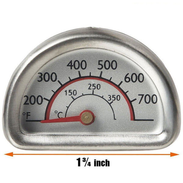 BBQ Thermometer Indicator for Charbroil Grill 463224611 463224912 Durable US