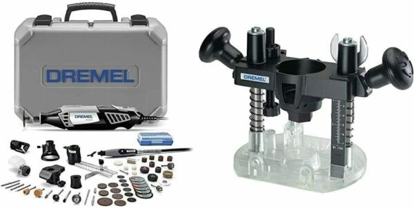 Dremel 4000 6 50 High Performance Rotary Tool Kit with Flex Shaft 6 Attachments