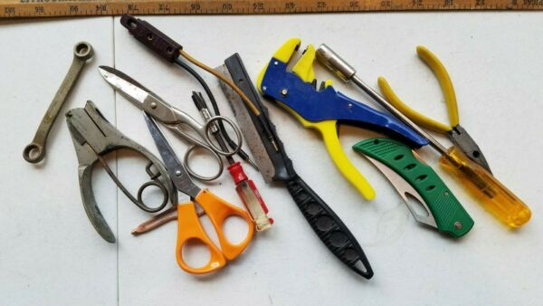 11 Miscellaneous Vintage Small Tools Lot