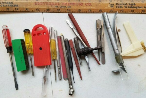 20 Miscellaneous Vintage Small Tools Lot gtrt33