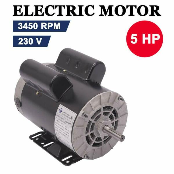5HP 5 8quot; 3450RPM Compressor Duty Electric Motor 1Phase 56Frame Shaft US $168.99