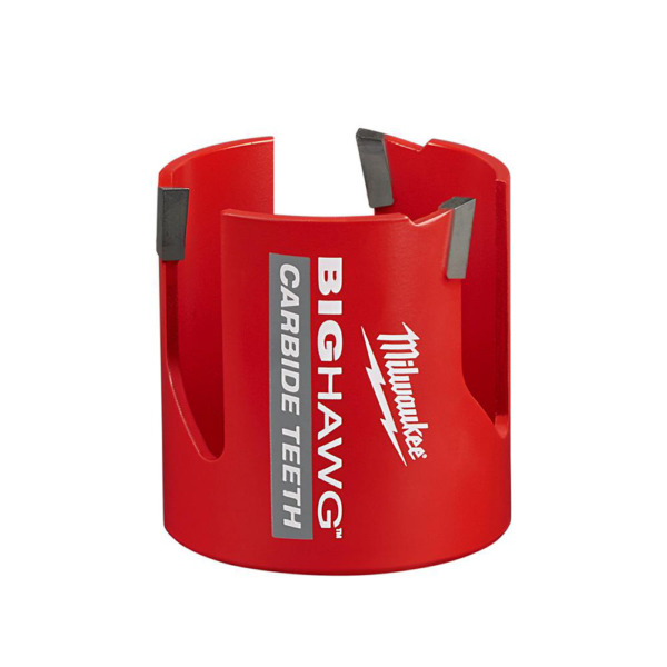 Carbide Hole Saw Milwaukee 2 9 16 Inch Big Hawg Wood Cement Plaster Cutting Tool $36.91