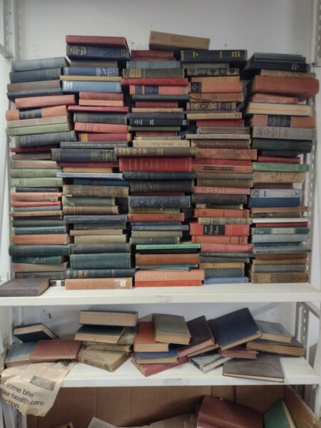 Lot of 20 Antique Vintage Old Rare Hard To Find Books *MIX UNSORTED*