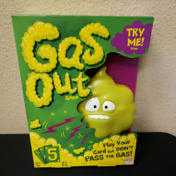 Mattel Games Gas Out Game 2 6 Players Ages 5 New FREE SHIPPING $24.95
