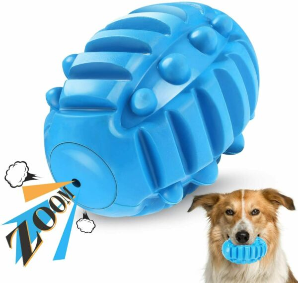 Squeaky Dog Toys for Aggressive Chewers Indestructible Dog Chew Toys Fetch Ball $12.99