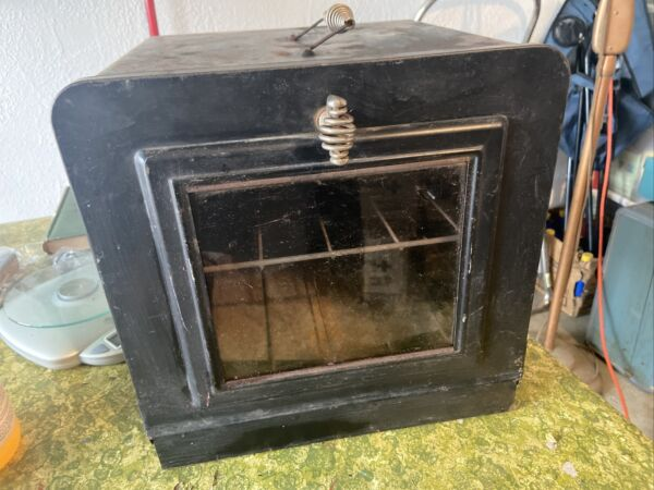 Antique Camping Portable Camp Fire Oven