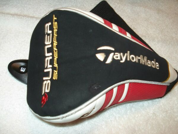 TaylorMade Burner Superfast Fairway Wood Headcover w dial tag Very Good Condit