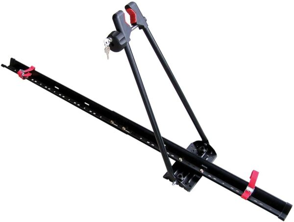 Car Upright Roof Carrier Rack Mount Bicycle Racks With Lock For Bike $69.99