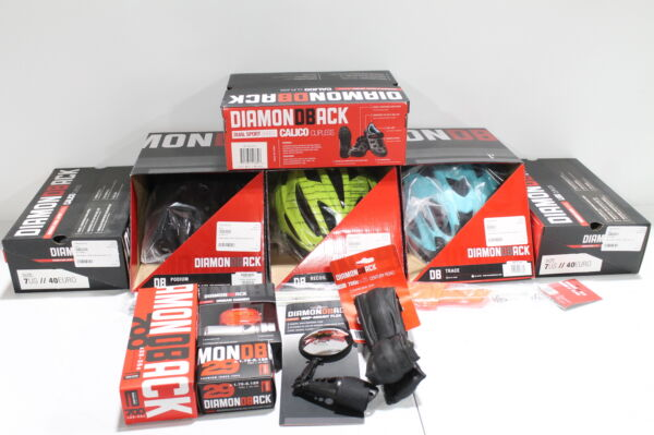 Lot of 485 Diamondback Bicycle Accessories Includes Helmets Shoes Tubes More $999.99