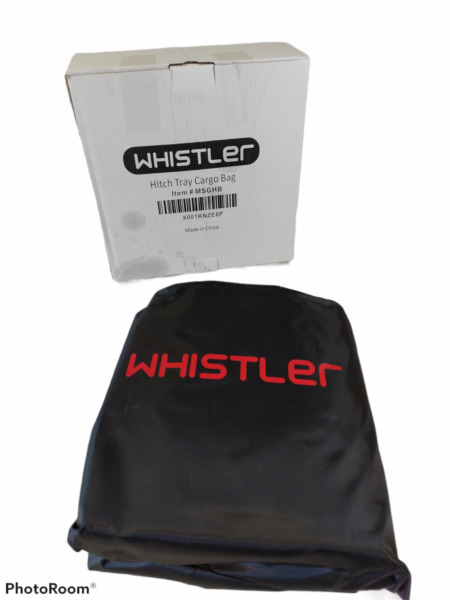 WHISTLER Hitch Tray Cargo Bag 100% Waterproof 20 cu Ft Capacty $62.99
