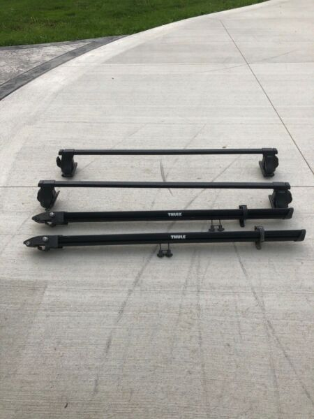 Thule bike rack  roof mount 2 trays good condition $175.00