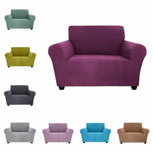 Elastic Sofa Slipcovers Stretch Seat Chair Covers Couch Furniture Protector Soft