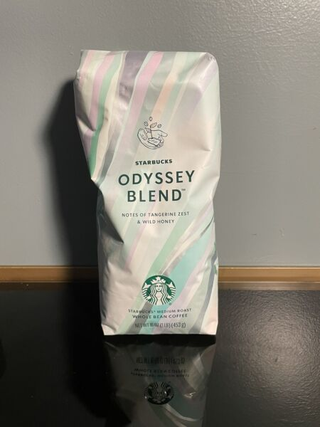 Starbucks Whole Bean Coffee Odyssey Blend 16oz Bag New Factory Sealed