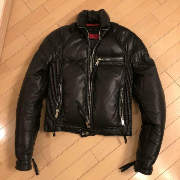 Dsquared Leather Down Jacket $804.62