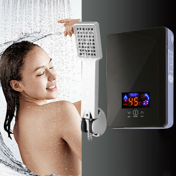 220V 8L Instant Electric Tankless 6500W Bathroom Hot Water Heater Whole House US $69.91