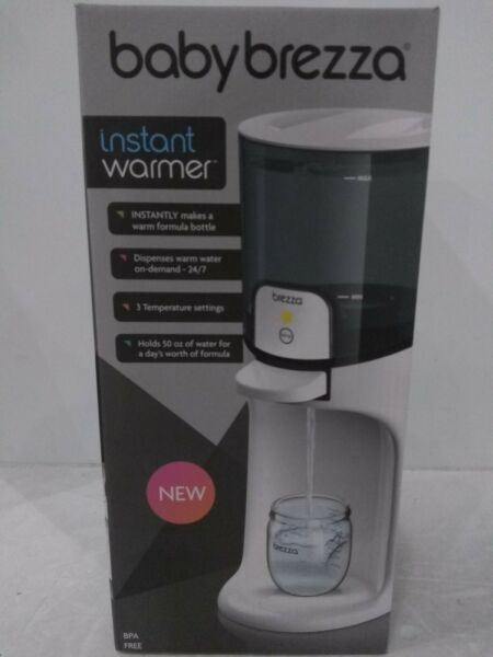 Baby Brezza Instant Warmer Instantly Dispenses Warm Water at Perfect Baby Bott $40.99