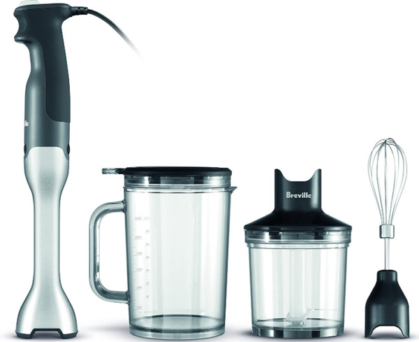 Breville BSB510XL Control Grip Immersion Blender Stainless Steel New $62.40