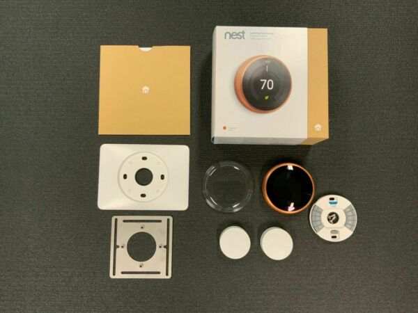 Nest Learning 3rd Generation Thermostat Copper T3021US $139.99
