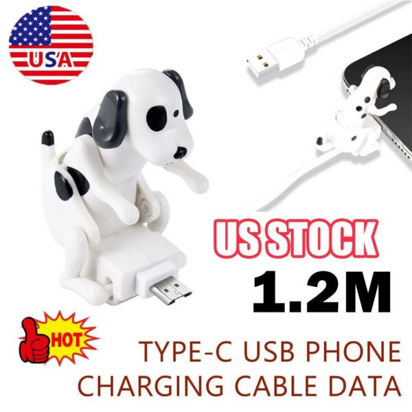 Type c Funny Humping Dog Fast Charger Cable XF $10.36