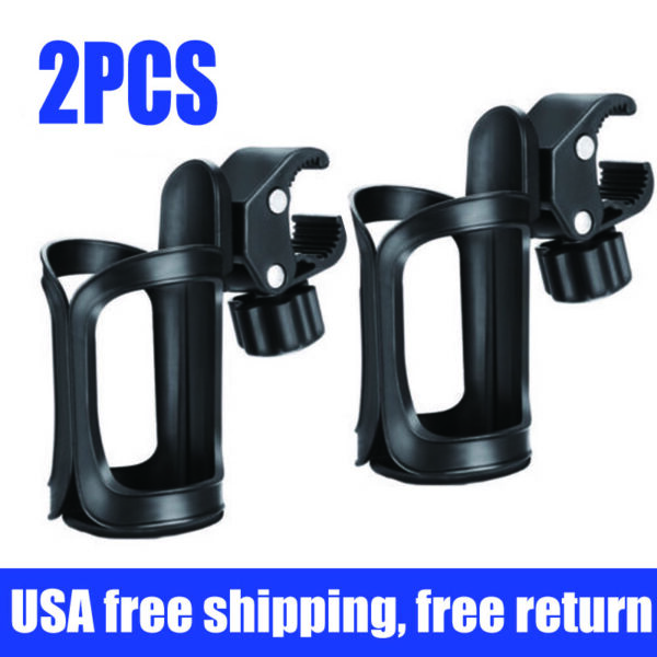 2PCS Bike Water Bottle Holder Cage Mount for Bicycle Wheelchair Plastic ASj $5.59