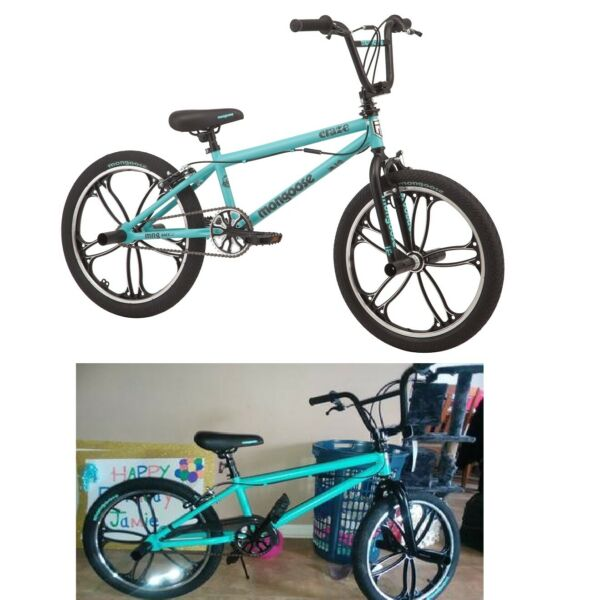 20 inch Freestyle BMX Bike Single Speed 4 Freestyle Pegs and Steel BMX Frame $239.99