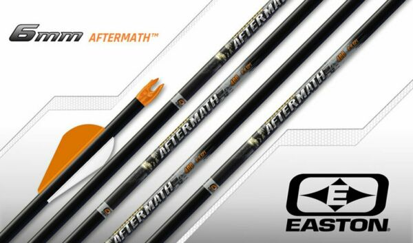 12 Easton Carbon Aftermath 500 6MM Bully Fletched Arrows $99.99