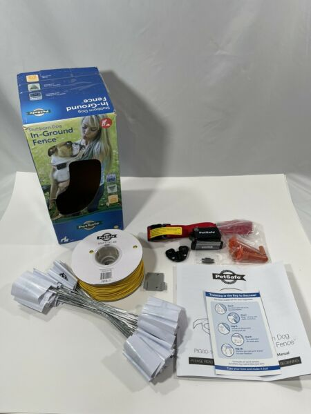 PetSafe Stubborn Dog In Ground Fence for Dogs and Cats 20 gauge *Read Info* $124.99