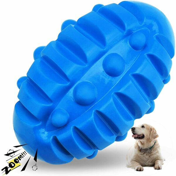 Dog Toys for Aggressive Chewers Indestructible Dog Chew Toys Squeaky Fetch Ball $15.89