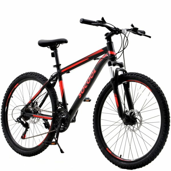 26 Inch Mountain Bike Men#x27;s MTB Cycling Racing with Double Disc Brake for Adult $339.99