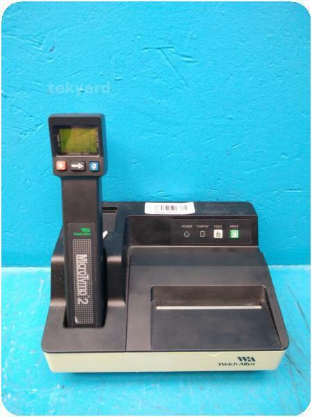 WELCH ALLYN MICRO TYMP 2 TYMPANOMETER W 71170 BATTERY CHARGER @ 267535