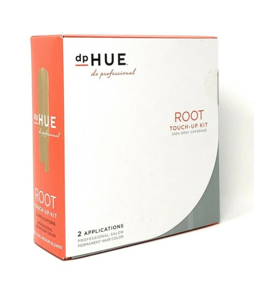 dpHUE Root Touch Up Kit 8.01 Cool Medium Blonde Sealed Set of 2 Applications NIB $28.00