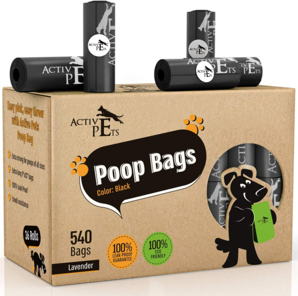 Active Pets Dog Poop Bag Extra Thick Dog Waste Bags Leak Proof Dog Bags For Po $20.95