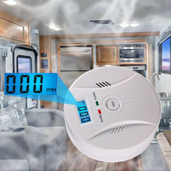 Carbon Monoxide CO and Smoke 2in1 Combination Detector Alarm Battery Operated $16.95