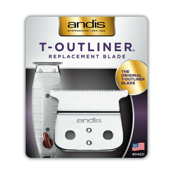 Andis T Outliner Replacement T Blade Carbon Steel Trimmer Model 04521 $14.25