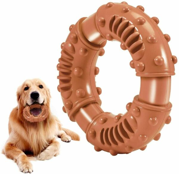 Dog Chew Toys for Aggressive Chewers Indestructible Dog Toys Tough Clean Teeth $10.89