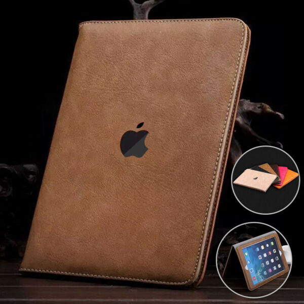 For iPad 8th 7th 6th 5th Air 2 Mini 5 4 3 2 Smart Flip Leather Case Wallet Cover $12.99