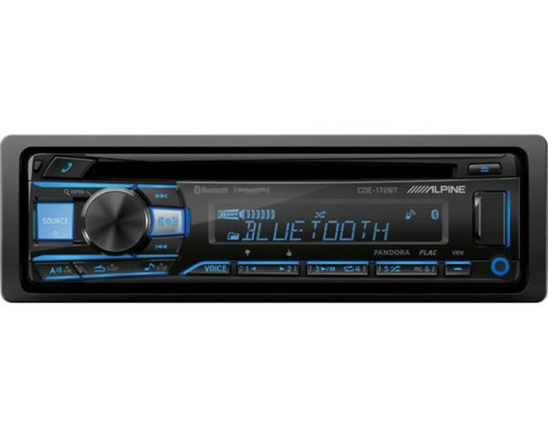 ALPINE CDE 172BT 6 Channel SiriusXM CD Receiver With 3 Band Equalizer