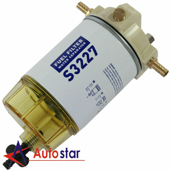 New S3227 Fuel Filter Water Separator Complete Durable For Racor 320R RAC 01 $37.97
