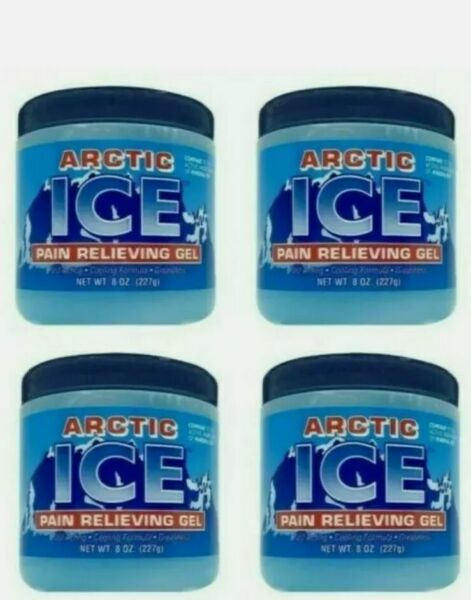 4 X ARCTIC ICE Muscle Pain 7 Oz EachCompare to active ingredient in Mineral Ice $15.99